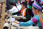 Thổ cẩm lanh của người H'Mông ở Lùng Tám