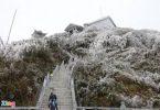 Du lịch hưởng lợi trong ngày xuất hiện băng, tuyết