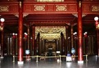 Throne of Nguyen Kings moved to make room for restoration